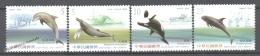 Formosa - Taiwan 2002 Yvert 2682-85, Faunja, Cetaceans - MNH - 1945-... Republic Of China