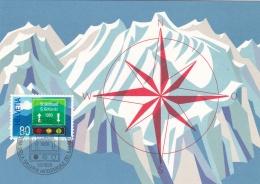Switzerland Maxicard 1980 St.Gothard Tunnel (T18-32) - Other (Earth)