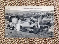 C.P.A. 69 COURS ( Rhône) : Quartier De Vivi Et Usine à Gaz - Cours-la-Ville