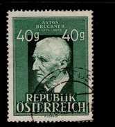 Österreich 941 Anton Bruckner Used Gestempelt - 1945-.... 2. Republik