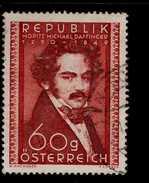 Österreich 948 Moritz Daffinger Used Gestempelt - 1945-.... 2. Republik