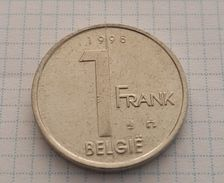 Belgium 1 Franc (Belgie) 1998 - 02. 1 Franc