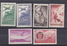MONACO  :  Y Et T  PA  2 à 7   Neuf XX  MNH  Cote 16 Euros - Poste Aérienne