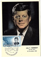 MON-L13 - MONACO Carte Maximum John F. Kennedy 1964 - Kennedy (John F.)