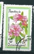 N° 126C  Fleurs Rhododendron Catawbiense  Timbre Guinée équatoriale (1979) Oblitéré - Guinée Equatoriale