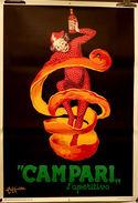 MANIFESTO PUBBLICITARIO CAMPARI Illustratore CAPPIELLO LEONETTO - Plakate