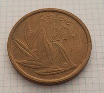 Belgium 20 Francs (Belgie) 1980 - 1951-1993: Baudouin I