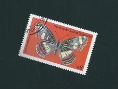 N° 125 Papillons: Araschnia Levana TIMBRE  Guinée équatoriale (1979) Oblitéré - Guinée Equatoriale