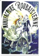 CARTE POSTALE  - VELO - CYCLE - MANUFACTURE ROUBAISIENNE -  10X15 CM - Altri