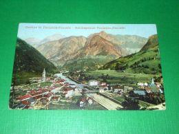 Cartolina Confine Di Pontebba - Pontafel / Reichsgrenze Pontebba - Pontafel 1903 - Udine