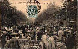 PARIS (75) La Rue Baltard - Le Carreau Des Asperges - Gros Plan - Très Belle Carte Postée - Arrondissement: 01