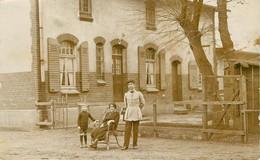 CARTE PHOTO - CAMP DE WHAN - Niedersachsen - 1921 - CACHET DU PHOTOGRAPHE AU DOS - Allemagne