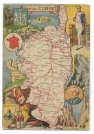 CORSE - CORSICA STORIA - ILLUSTRATA J.B. PINCHON   NV FG - Corse