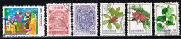 Taiwan 2013/16, Michel# 4119, 3849, 4085, 3767 + 3794 O - 1945-... Republik China