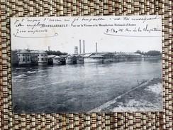 C.P.A. 86 CHATELLERAULT : Vue Sur La Vienne Et La Manufacture Nationale D'Armes, En 1916 - Chatellerault