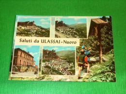 Cartolina Saluti Da Ulassai - Vedute Diverse 1960 Ca - Nuoro