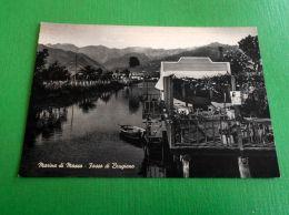 Cartolina Marina Di Massa - Fosso Di Brugiano 1950 Ca - Massa