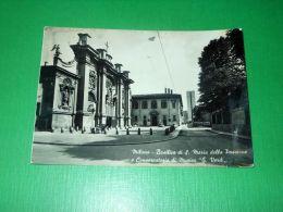 Cartolina Milano - Basilica Di S. Maria Della Passione E Conservatorio G. Verdi - Milano