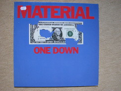 MATERIAL - ONE DOWN - (ELEKTRA/ASYLUM 1982) (LP) B.LASWELL & Cie (NONA HENDRIX, NILE RODGERS, WHITNEY HOUSTON... - Rock
