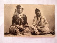 FEMME ARABE Scene Et Types Jeunes Mauresques D ALGER - Algeria