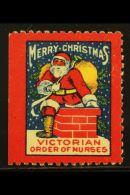RARE CHRISTMAS SEAL 1926 Victorian Order Of Nurses - Vancouver Branch Christmas Seal, Very Fine Unused No Gum As... - Canada