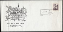 ÖSTERREICH 1975 - Fest Des Hl.Nikolaus - St. Nikola 4381 A.d. Donau Donau - Sonderausgabe - 1945-.... 2. Republik