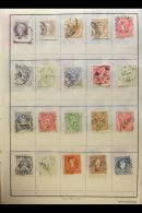 SELECTED EUROPEAN COUNTRIES. 1850's-1980's Chiefly Fine Used Mostly All Different Stamps In Three Unpicked... - Stamps