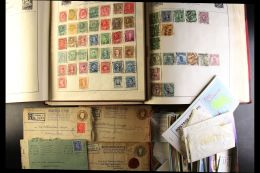 WORLD Early To Modern In 9 Albums And Loose Including Well Filled Centurion Album And Shortbread Tin Full Of GB... - Stamps