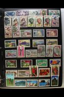 OCEANIA 1854-1990 ALL DIFFERENT Used Collections Presented On Double Sided Stock Pages With French Polynesia,... - Stamps