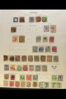 NORTHERN EUROPE 1851-1938. A MOST USEFUL OLD TIME Mint & Used Collection Presented On Printed Pages, Chiefly... - Stamps