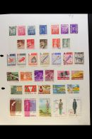 FOREIGN COUNTRY COLLECTIONS A Small Box Filled With Country Collections On Pages From Around The World. ALL PERIOD... - Stamps