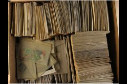 WORLD HOARD IN ENVELOPES. Late 19th Century To 1970's Mostly Used Stamps Sorted By Countries Or By Issues Into... - Stamps
