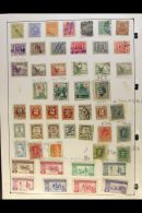 WESTERN EUROPEAN COUNTRIES COLLECTION. Late 19th Century To 1990's Mint & Used Stamps On A Thick Pile Of... - Stamps