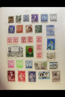 FOUR ALBUM WORLD COLLECTION Housed In Full Size Spring Back Albums, Something From All Four Corners Of The Globe,... - Stamps
