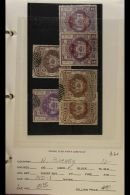 BRITISH COMMONWEALTH USED QV To Early QEII Ranges On Dealer's Display Sheets In A Binder. Flicking Through Can See... - Stamps