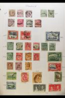 BRITISH COMMONWEALTH IN 11 BINDERS Collection As Received In 11 Ring-biders,  A To Z Basic Country Collections,... - Stamps