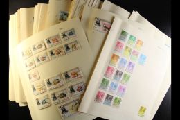 ALL DIFFERENT - WORLD COLLECTION BUILDER An Extensive, ALL DIFFERENT, ALL WORLD Mint & Used Collection... - Stamps