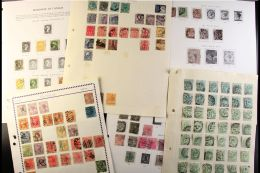 GB & BRITISH COMMONWEALTH IN 22 PRINTED ALBUMS An Enormous Used Collection Of Mostly Modern Issues But... - Stamps