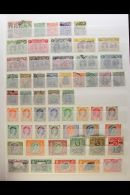 BRITISH COMMONWEALTH HIGH-POWERED STOCKBOOK 1890's To 1960's Mint And Used (mainly Mint/never Hinged Mint) With... - Stamps