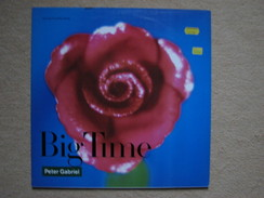 PETER GABRIEL - BIG TIME - MAXI (GREFFEN RECORDS 1986) - 45 Toeren - Maxi-Single