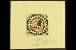 ROTARY INTERNATIONAL - SUNKEN DIE PROOF 1955 30f Rotary International 50th Anniversary (as SG 543, Yvert 440) - A... - Monaco