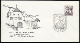 ÖSTERREICH 1976 - Fest Des Hl.Nikolaus - St. Nikola 4381 A.d. Donau Donau - Sonderausgabe - 1945-.... 2. Republik