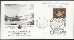 ÖSTERREICH 1979 - Fest Des Hl.Nikolaus - Motorschiff Thaya, St. Nikola 4381 A.d. Donau Donau - Sonderausgabe - 1945-.... 2. Republik
