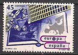 Spanien (1991)  Mi.Nr.  2991  Gest. / Used  (14fg22)  EUROPA - 1931-Heute: 2. Rep. - ... Juan Carlos I
