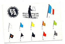F.F.S.A  Règlement Sur Les Drapeaux De Circuit Automobile - Collections