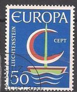 Liechtenstein  (1966)  Mi.Nr.  469  Gest. / Used  (14fg23) EUROPA - Liechtenstein