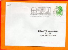 MARNE, Chalons Sur Marne, Flamme SCOTEM N° 10643, Nicolas Appert, Né à Chalons Sur Marne - Marcophilie (Lettres)