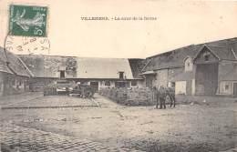 91 - ESSONNE / Villeziers - La Cour De La Ferme - Beau Cliché - Francia