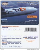 ARMENIA - FedEx, Transimpex Ltd, ArmenTel Prepaid Card 5000 AMD, Tirage 5000, Exp.date 30/10/06, Sample - Armenia
