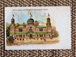 """C.P.A.: Exposition Universelle De 1900 Pavillon De La ROUMANIE, Parfumerie """"Au Rayon D'Or"""" - Romania"""